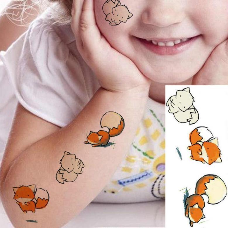 Детские тату - эскизы для девочек и мальчиков (70 фото)