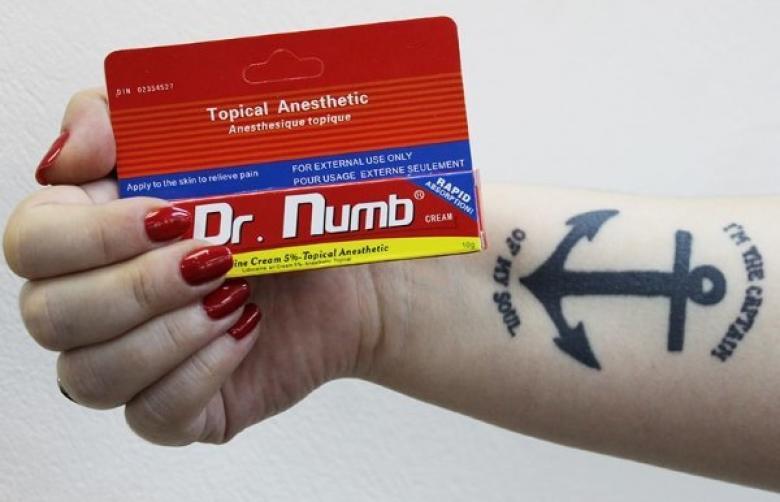 Как обезболить тату - как выбрать крем, мазь или гель для обезболивания