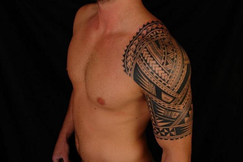 Лучшие тату для мужчин - эскизы, фото идеи на предплечье, плече, руке, как рукав