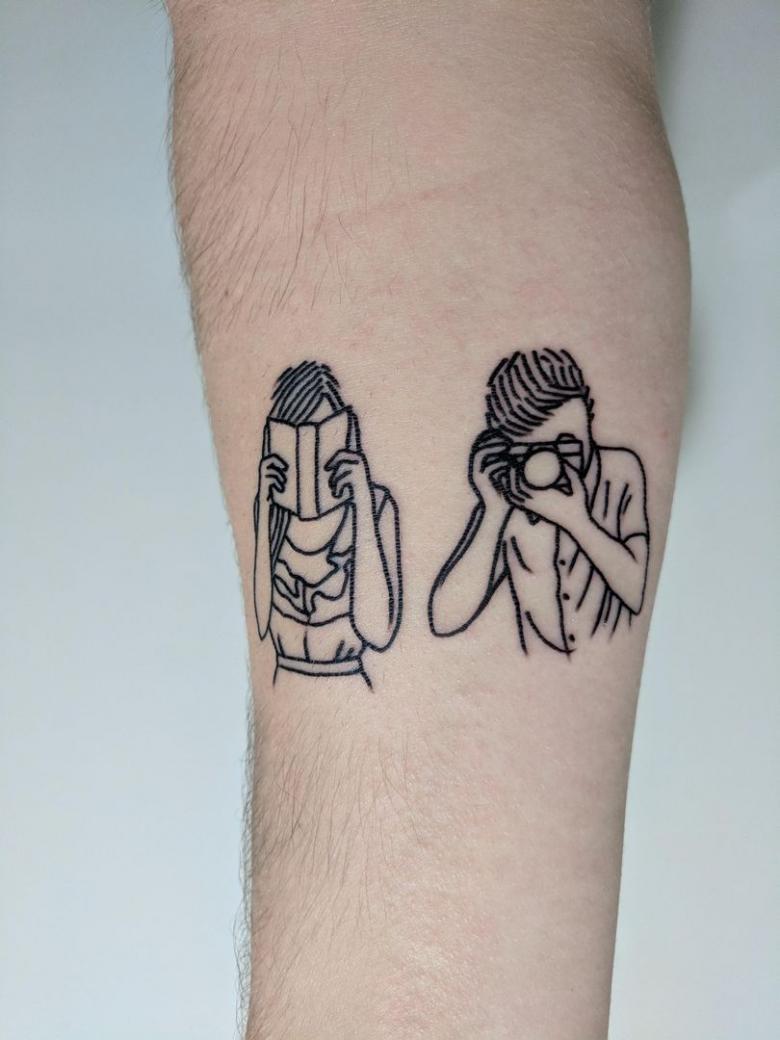 Оригинальные татуировки для девушек и мужчин (73 фото)