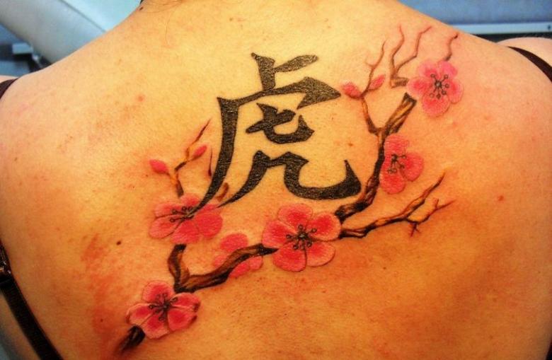 Китайские тату - значение, эскизы китайских иероглифов и надписей для татуировок (77 фото)