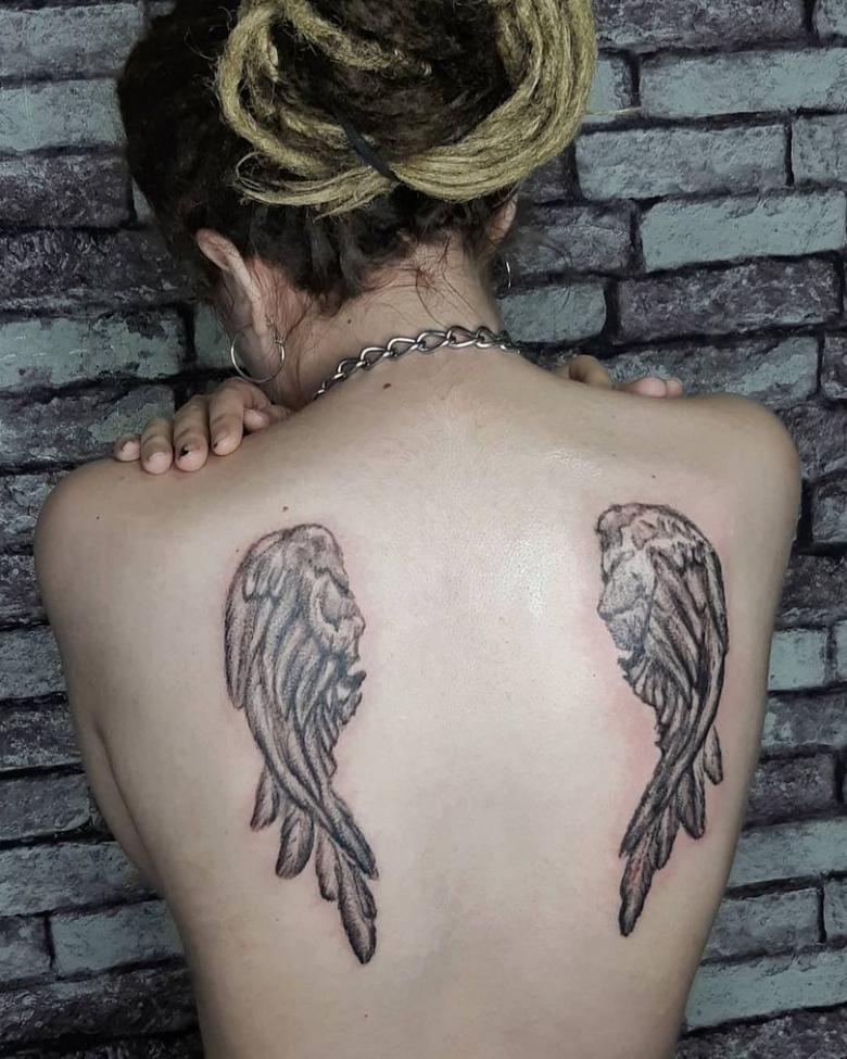 программа тату крылья ангела фото анастасии ковалевой талантливые актеры голливуда