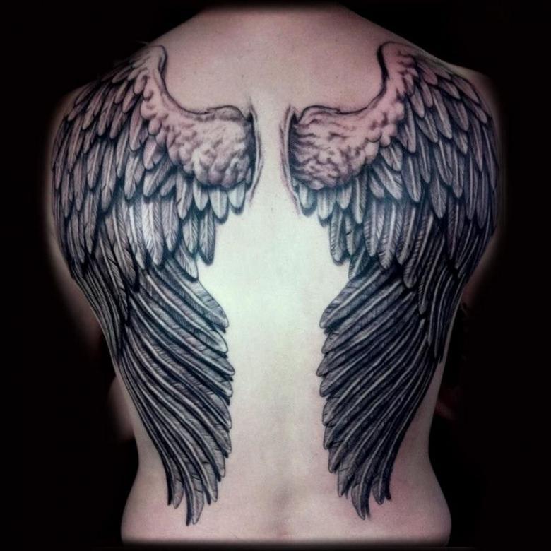 снимки были тату крылья ангела фото и значение наоборот, использование новейших