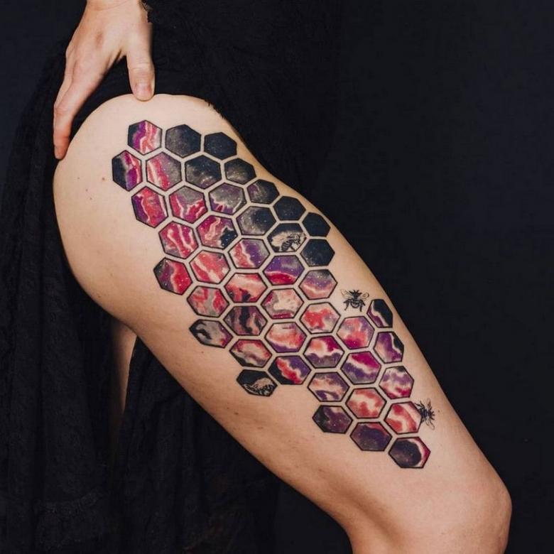 Необычные татуировки (80 фото) - эскизы со смыслом для девушек и мужчин на руке, запястье, плече