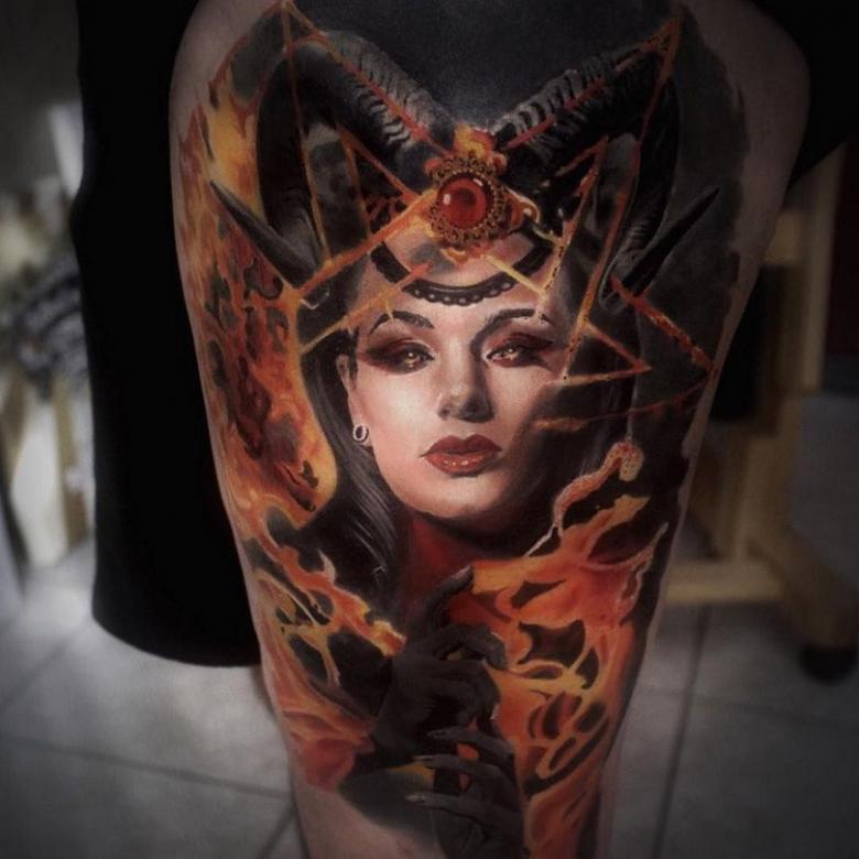 Тату суккуб - значение и эскизы татуировки (58 фото)
