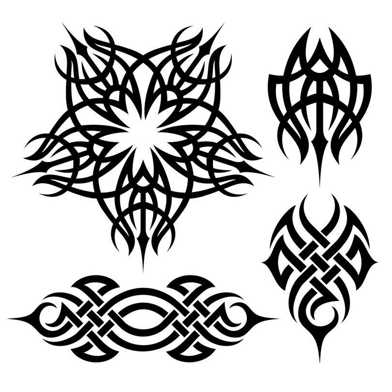 картинки для татуировок в векторе побережье