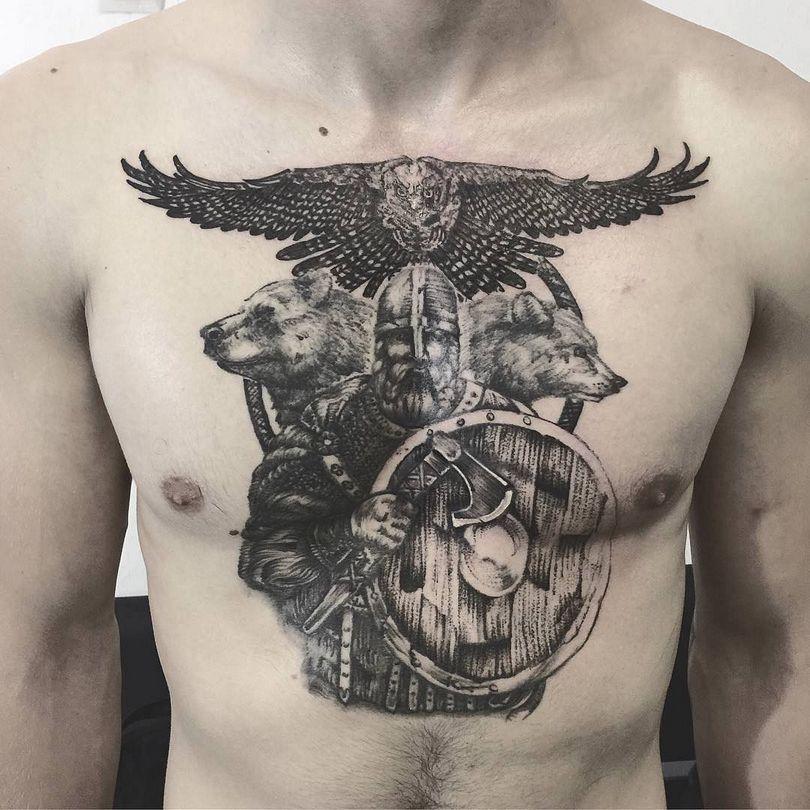 Фото и значение татуировок для мужчин
