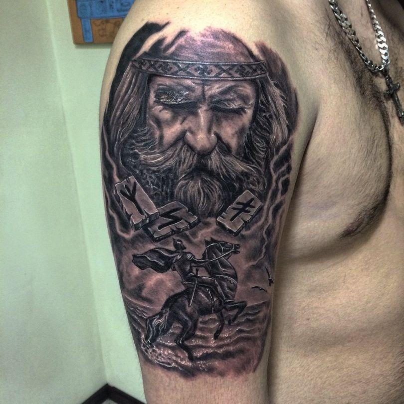 Татуировки с богом картинки