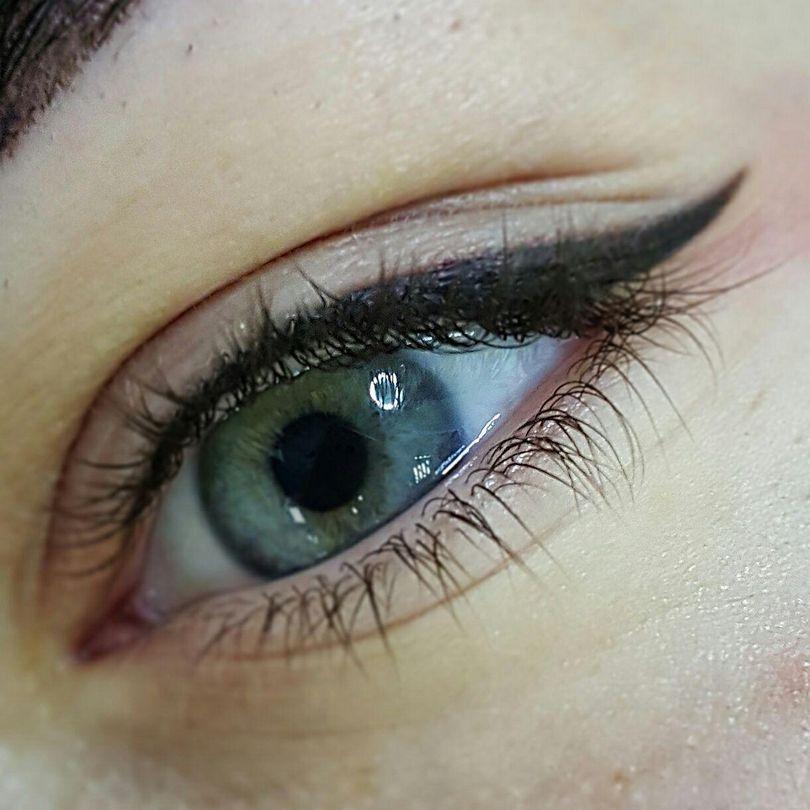 Картинки татуаж стрелки глаз